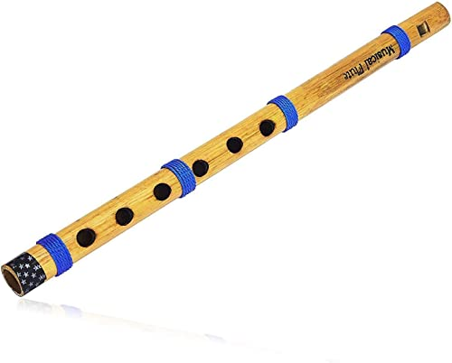 The Great Indian Bazaar Unique Birthday Gift Ideas 13 Authentic Indian Wooden Bamboo Flute In C Key Fipple Woodwind Musical Instrument Recorder Traditional Bansuri Hand Crafted Gifts For Adult Kids