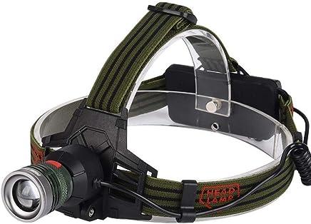 MUTANG Aluminiumlegierung Starke Scheinwerfer Outdoor Wandern Camping Scheinwerfer T6 Super Helle Blendung USB Wiederaufladbare Taschenlampe B07N47DL41       Zarte