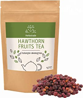 Hawthorn Berries (Crataegus monogyna) Dried Fruits Herbal Tea (Loose) 3 oz / 90gr wildcrafted by Teliaoils