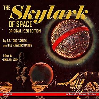 The Skylark of Space audiobook cover art