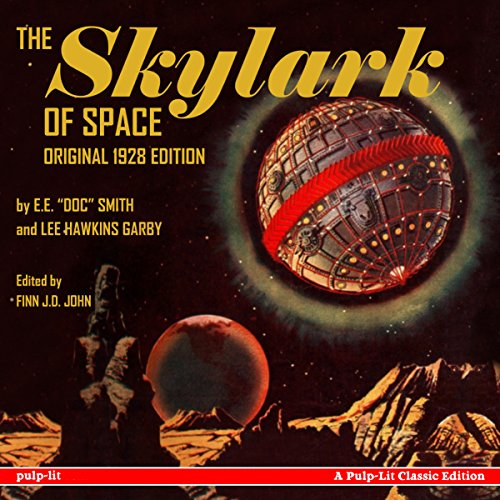 『The Skylark of Space』のカバーアート