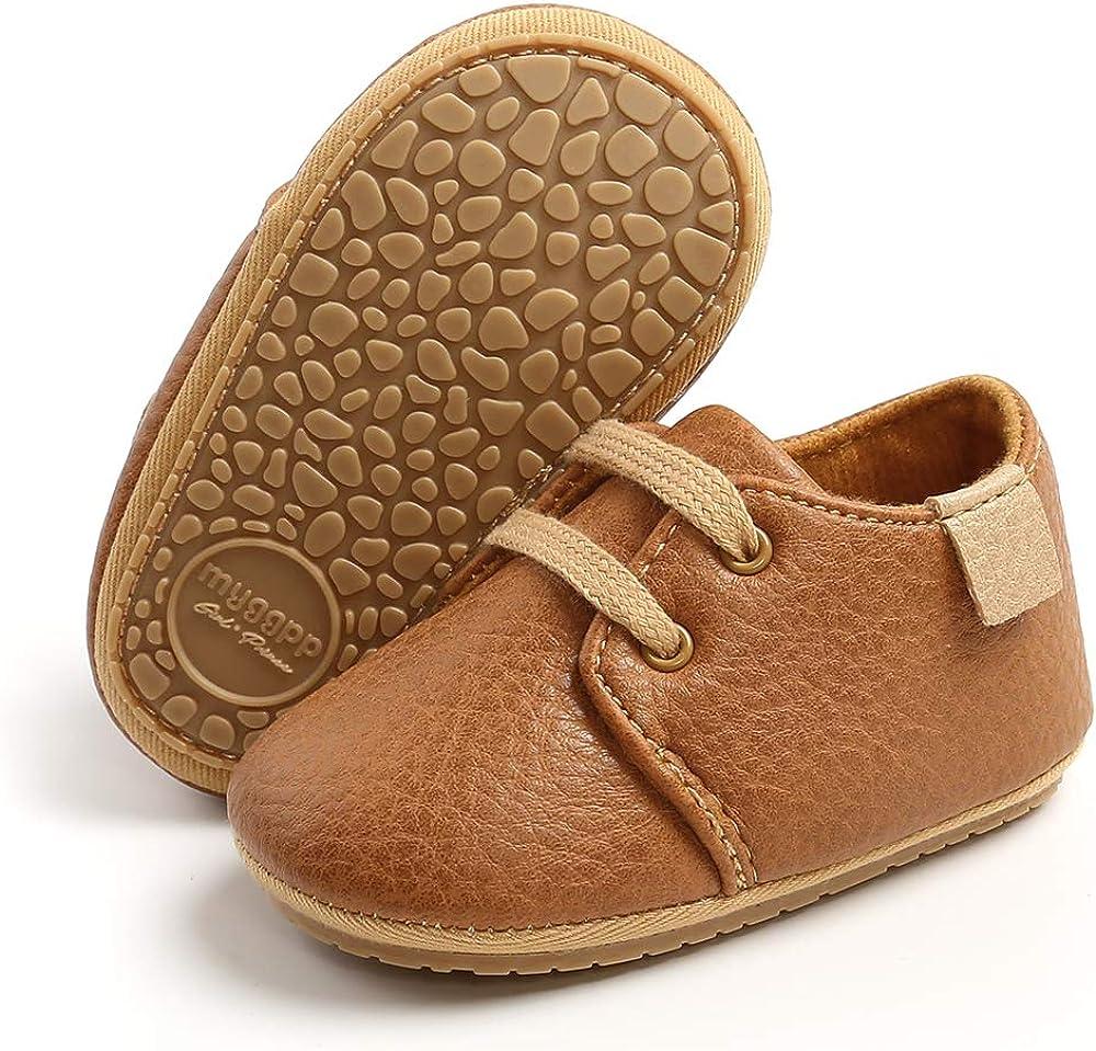 RVROVIC Baby Boys Max 40% Nippon regular agency OFF Girls Sneakers Oxford I Loafer Flats Anti-Slip