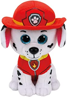 Ty Beanie  96322 Aladdin Marshall Dalmation PAW Patrol-MED, Multicolored