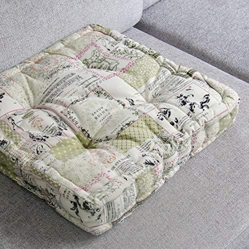 Linnen kussen, stoelkussen, klassieke, verdikkingsmat, hoofdkussen, bureaustoel, entertainmentkussen, Tatami-stoel, 40 x 40 cm (16 x 16 inch) 40x40cm(16x16inch) X