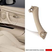 InSassy Door Pull Handle for BMW E90 E91 E92 E93 3 Series - Right Front/Rear Inner Door Panel Handle Support Bracket - Passenger Side Door Handle Replacement 51-41-7-230-854 Beige