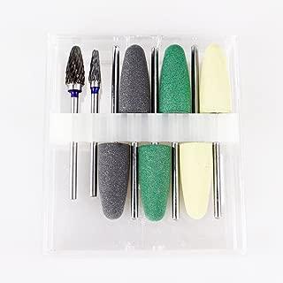 Polishing Burs Kits Acrylic Resin Bridgework Grinding Set 8pcs