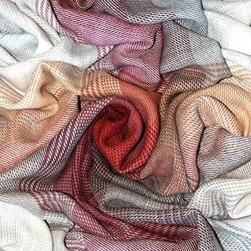 Lorenzo Cana Premium Alpakadecke 100prozent Alpaka Fair Trade Decke Wohndecke handgewebt Sofadecke Tagesdecke Kuscheldecke 9601511