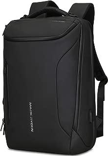MARK RYDEN バックパック 完全防水ビジネスリュック メンズ用 30L大容量 盗難防止ラップトップバッグ17インチパソコン対応 黒