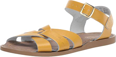 Salt Water Sandals by Hoy Shoes Baby Girl's The Original Sandal (Infant/Toddler) Mustard 6 M US Toddler