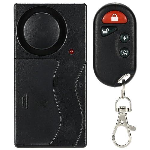 KKMOON Télécommande Alarm Accueil sans Fil Vibration Contrôle Maison Sécurité Porte Fenêtre Capteur Détecteur de Voiture