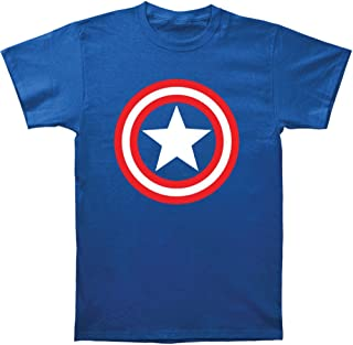 Marvel Mad Engine Captain America Men's Shield T-Shirt