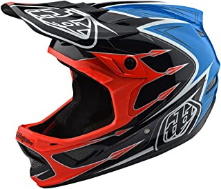 Troy Lee Designs Downhill Mountain Bike Composite D3 Helmet Corona (Large, Orange)