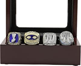 Kickoff101 Super'b Bowl Championship Rings Display Box Set - Size 11