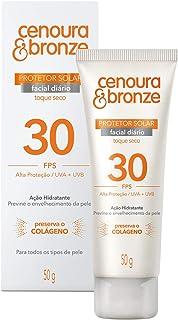 Protetor Solar Facial Cenoura & Bronze Fps 30 50G