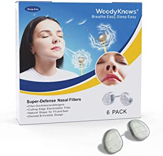 WoodyKnows Super-Defense Nasal Filters
