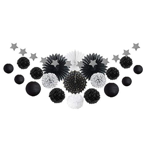 Deco Noir Et Blanc Amazonfr