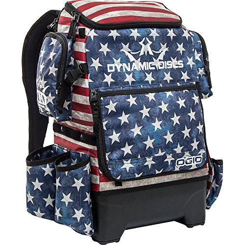 Dynamic Discs Ranger H2O Disc Golf Bag | Large Main Compartment That Can Hold 18+ Discs | On-Deck Disc Golf Putter Pouch Capable of Holding Two Disc Golf Putters