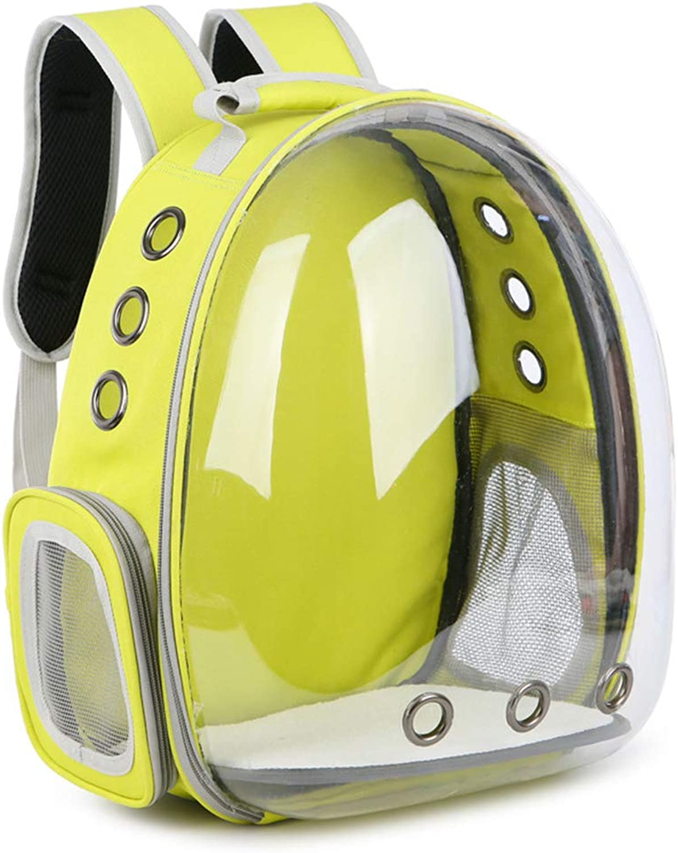 LXY Transparent Portable pet backpack Cat puppy Waterproof Handbag Bubble Travel Backpack Small medium dog Baby Back pocket