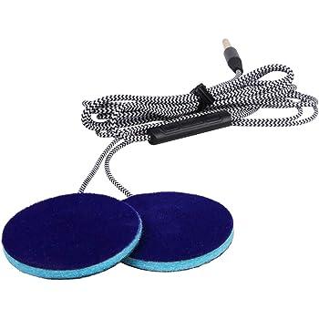 Sleep Ultra Thin Pillow Speakers with Mic, Control Button for Sleep Headphones. Headband Headphone Replacement MMUSS