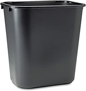 Rubbermaid Commercial TREEMEWP Soft Molded Plastic Wastebasket, 7 Gal, 2 Pack