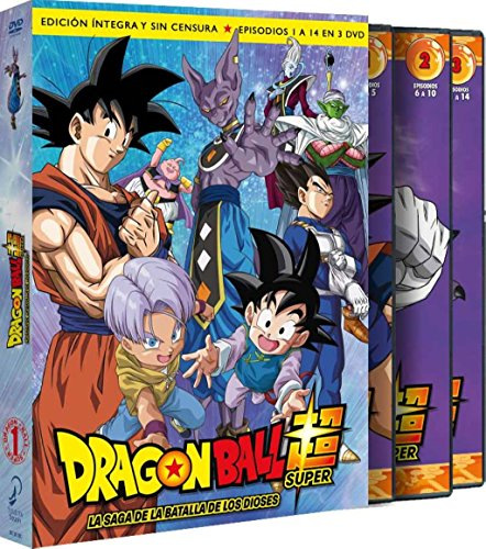 Dragon Ball Super. 1 scatola. La Saga De La Batalla De I Dei Episodi 1 A 14 [DVD]