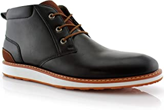 Ferro Aldo Houstan MFA506031 Mens Memory Foam Casual Mid-Top Sneaker Desert Chukka Boots