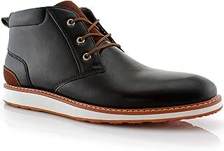 Houstan MFA506031 Mens Memory Foam Casual Mid-Top Sneaker Desert Chukka Boots