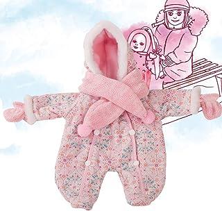 Götz 3402279 Schneeanzug warm eingepackt - Overall-Winterset Puppenbekleidung Gr. M - 3-teiliges Bekleidungs- und Zubehörset für Babypuppen 42 - 46 cm
