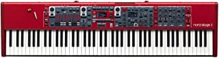 Nord USA Nord 3 88-Key Digital Stage Piano with Full Weighted Hammer Action Keybed (AMS-NSTAGE3-88) (Renewed)