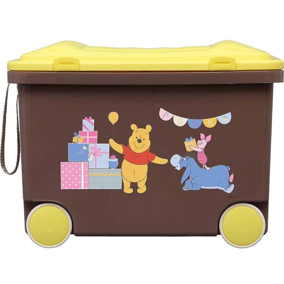 毎回欺く必要性アイリスオーヤマ おもちゃ箱 キッズ トイカート ディズニー プ―さん 幅45×奥行33.5×高さ33.3cm NKTC-450
