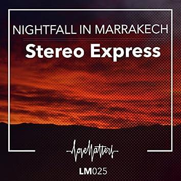 Nightfall in Marrakech