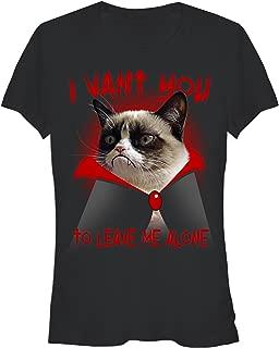 Grumpy Cat Juniors' Halloween Dracula Vampire T-Shirt