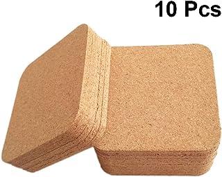 Posavasos de corcho autoadhesivos 10 CM