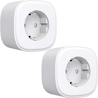 Refoss Smart Plug, wifi-stopcontact, met afstandsbediening, compatibel met Alexa, Google Assistant, spraakbesturing en tij...