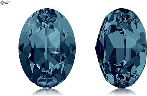 autorización oficial SWAROVSKI Crystals Elements Fancy Stones 4120 MM6,0X 4,0 F - - - Indicolite F (379)  Felices compras