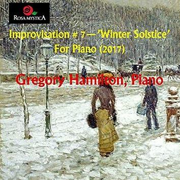 Improvisation #7: Winter Solstice
