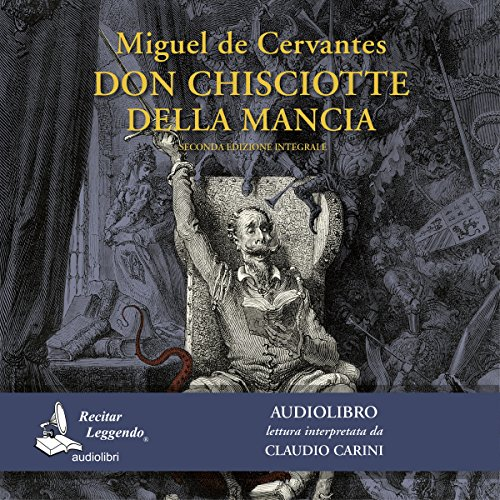 Don Chisciotte della Mancia audiobook cover art