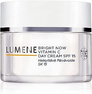 Day Face Cream SPF15 LUMENE BRIGHT NOW VITAMIN C-Brightening and Protecting-50ml