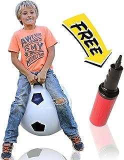 WALIKI Hop Ball for Kids 3-6 | Soccer Hopper | Jumping Hopping Ball | Field Day Relay Races | 18