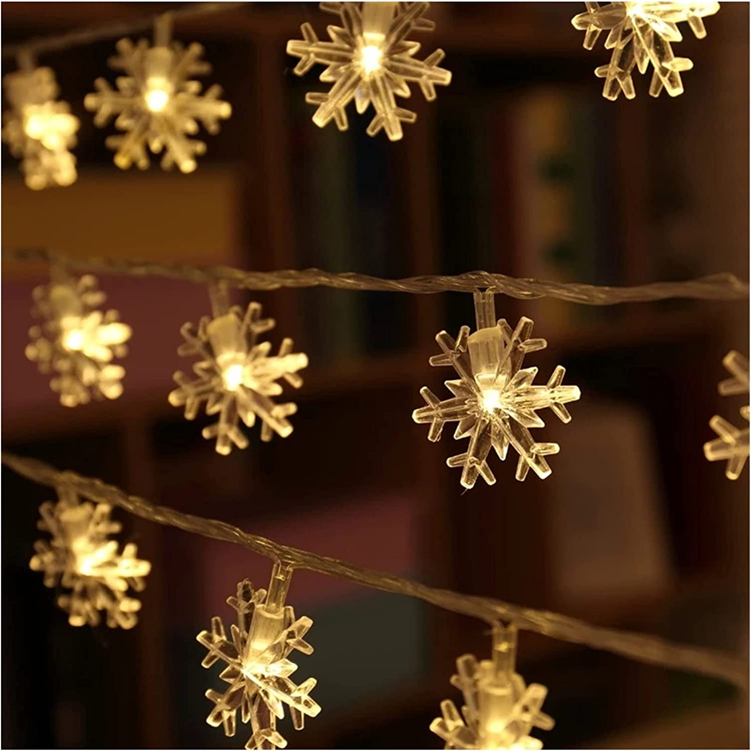 Solar San Francisco Mall Snowflake Shape 22 Meters 200 String LED Ou Color New products world's highest quality popular Flashing