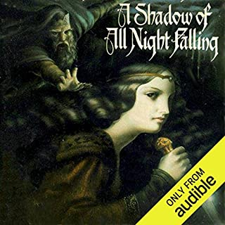 A Shadow of All Night Falling audiobook cover art