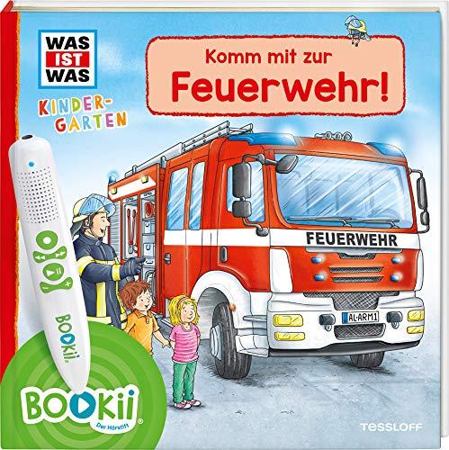 BOOKii WAS IST WAS Kindergarten Komm mit zur Feuerwehr! (BOOKii / Antippen, Spielen, Lernen)