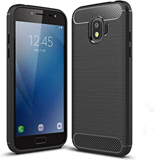 Galaxy J2 Pro 2018 Case, Galaxy Grand Prime Pro Case - Suensan TPU Shock Absorption Technology Raised Bezels Protective Case Cover for Samsung Galaxy J2 Pro 2018