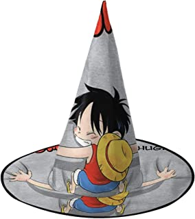 Gomu Gomu No Hug Luffy One Piece Witch Hat Halloween Unisex Costume For Holiday Halloween Christmas Carnivals Party
