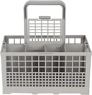 Qiter 【𝐏â𝐪𝐮𝐞𝐬】 Panier à Couverts Universel Boîte de Remplacement pour Lave-Vaisselle Boîte de Rangement pour Lave-Vai...