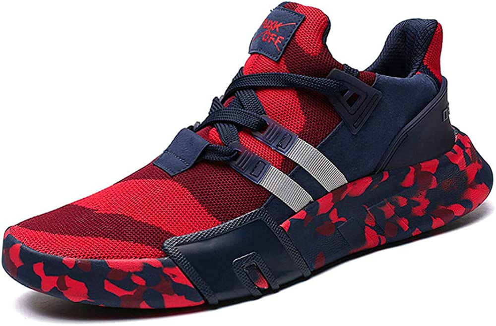 Men Running Shoes Under blast sales Baltimore Mall F_Gotal Men's Mesh Br Lace-Up Camouflage
