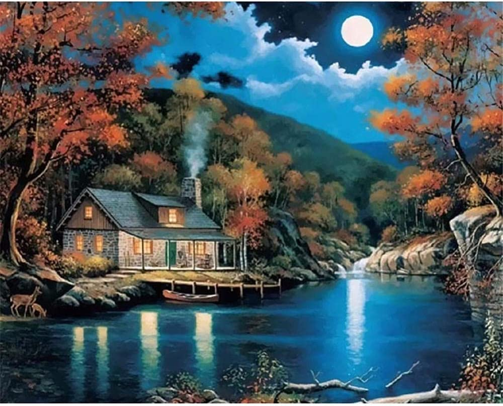 DIY 5D Ranking TOP3 Diamond Painting Kits for Houses Sunset Kids Adults Full online shop
