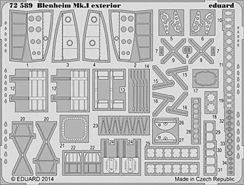 Eduard Photoetch 1:72 - Blenheim Mk.I Exterior (AIR08016)