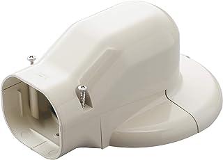因幡電工 配管化粧カバー ウォールコーナーエアコンキャップ用 壁面取り出し アイボリー LDWM-70-I