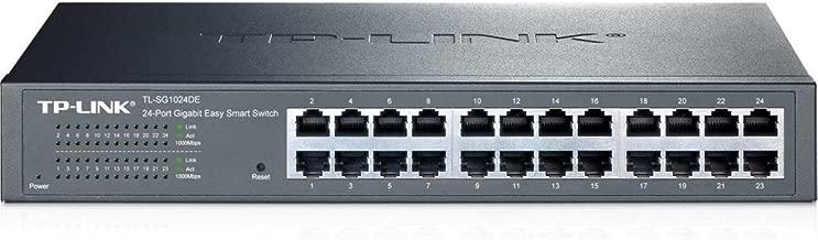TP-LINK 24PORT 10/100/1000 GIGABIT EASY SMART SWITCH / TL-SG1024DE /